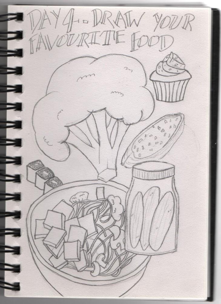 Sketchtember Day 4